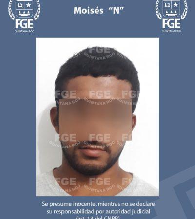 Aprehenden a sujeto por feminicidio de extranjera en la Sm 25 de Cancún