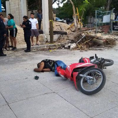 SEGUIMIENTO | TRABAJABA COMO GUARDIA PRIVADO DE SEGURIDAD EN UN CHEDRAUI: Confirman identidad de motociclista ejecutado en la Región 99 de Cancún