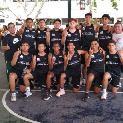 Selección de Quintana Roo de baloncesto viaja a Copa Telmex