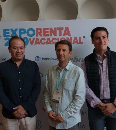 Se reúnen empresas internacionales en la primera edición de la Expo Renta Vacacional en Cancún