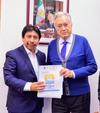 REUNIÓN CON BARTLETT: Presenta Víctor Mas Tah a CFE solicitud para reducir tarifa eléctrica