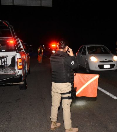 REFUERZAN SEGURIDAD EN CARRETERAS DEL SUR DE QR: Dice Fiscalía que hay coordinación interinstitucional para enfrentar robos