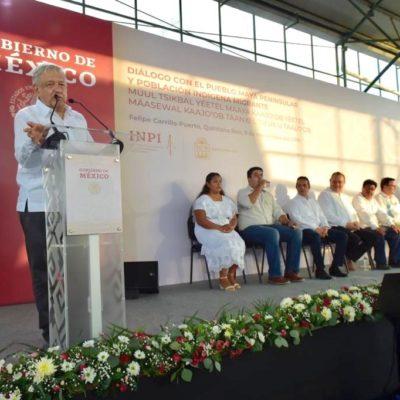 PROMETE AMLO LIBERAR A MARIO VILLANUEVA: Dice Presidente que siguen la vía legal para lograr que ex Gobernador de QR ya no tenga que permanecer en prisión