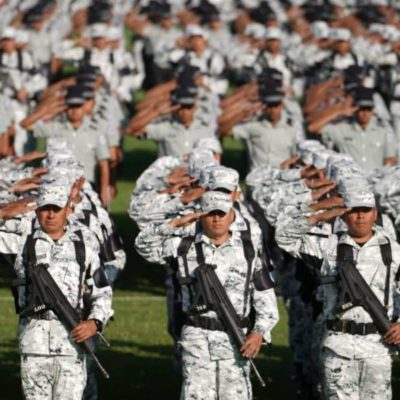 Rebasa Yucatán meta de prospectos para ingresar a la Guardia Nacional