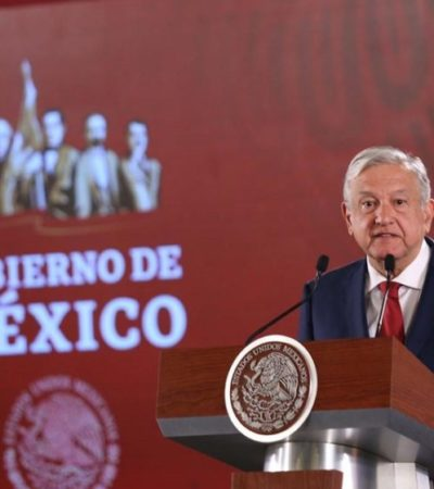 INICIA AMLO GIRA POR LA PENÍNSULA DE YUCATÁN: Mañana estará en Felipe Carrillo Puerto para dialogar sobre el proyecto del Tren Maya