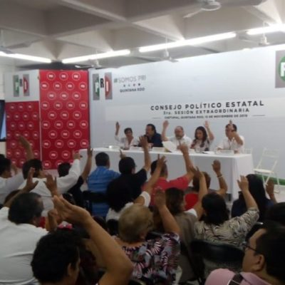 Piden militantes que candidatos a la dirigencia estatal del PRI tengan trayectoria y experiencia para recuperar la unidad del partido