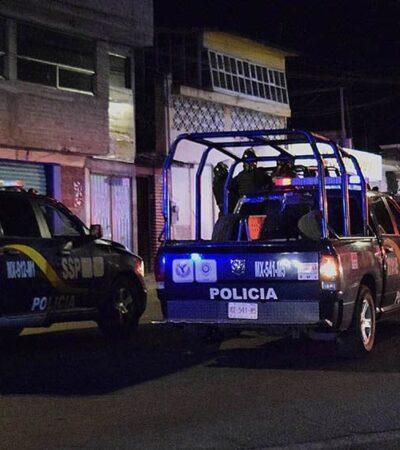 Participan 400 policías en desalojo de… un par mujeres invasoras de inmuebles en la CDMX