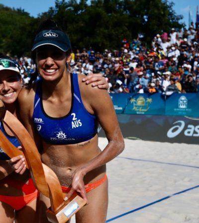 DAN LUSTRE EVENTOS DEPORTIVOS INTERNACIONALES: Tour Mundial de Voleibol en Chetumal y el Mayakoba Golf Classic en Playa del Carmen contribuyen a diversificar economía de Quintana Roo, aseguran