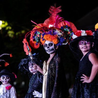 Con los festejos de Día de Muertos se mantienen vivas nuestras tradiciones y se reactiva la economía de Cozumel