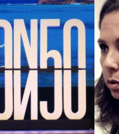 """""""ES IMPOSIBLE DARLE GUSTO A TODOS"""": Tras ola de críticas y de memes, sale Mara Lezama a defender el logo para celebrar los 50 años de Cancún"""