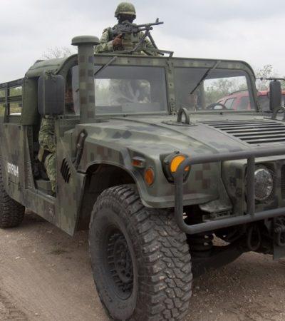 Dejan enfrentamientos saldo rojo en Tamaulipas; mueren un militar, un civil y 5 delincuentes