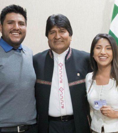 Viajan hijos de Evo Morales a Argentina, aunque no recibirán asilo político