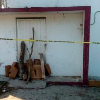 'Clausuran' colectivos Semefo de Coatzacoalcos donde incineraban huesos sin identificar