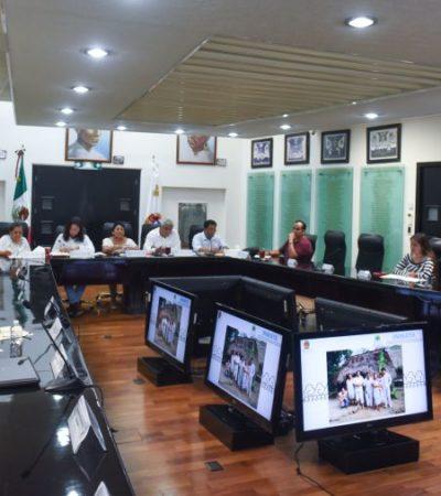 COMPARECE TITULAR DEL INMAYA: Dice Congreso que trabajarán en acciones para dignificar a los mayas en Quintana Roo