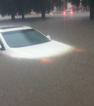 Dejan lluvias cuantiosos daños y más de 12 mil personas afectadas en Sinaloa