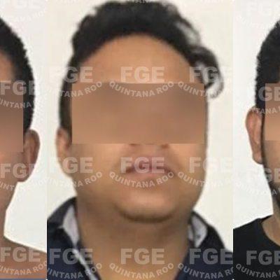 Cumplimenta FGE una orden de aprehensión por el delito de robo contra tres personas