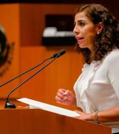 Rompeolas: Tendrá Marybel su informe como senadora 'en grande'