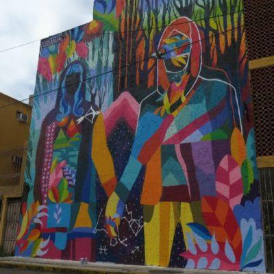 Busca el 'Proyecto Panorama' recuperar espacios públicos con murales artísticos en zonas abandonadas de Cancún