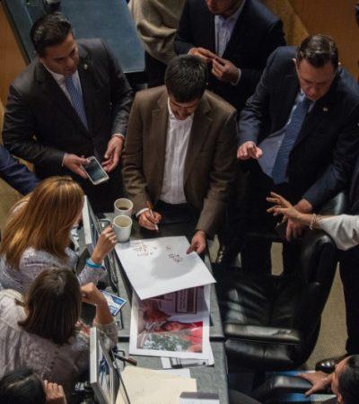 DOBLA PAN A MORENA: Repondrán elección de titular de la CNDH, pero con la misma terna