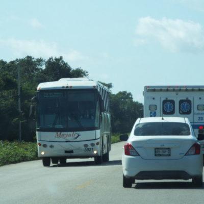 Mantiene ADO coordinación con la Policía Estatal y Federal para evitar incidentes delictivos en las carreteras