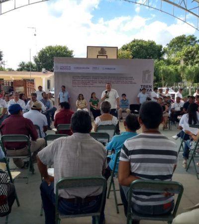 Inicia asamblea informativa para pueblos indígenas sobre el proyecto Tren Maya en Cobá