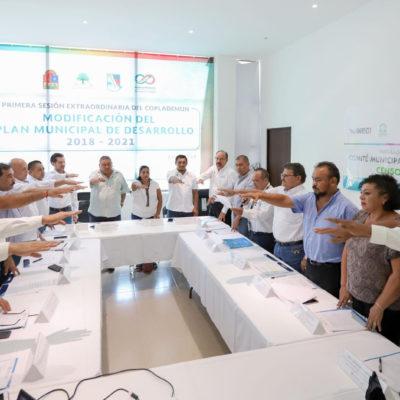 Instalan en Puerto Morelos el comité municipal de apoyo al Censo 2020