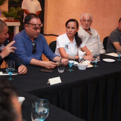 Refuerzan gobierno de Laura Fernández y hoteleros atención en Protección Civil
