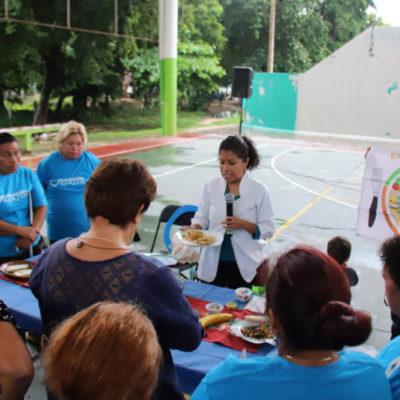 Organizan en Puerto Morelos jornada de salud en el Día Mundial contra la Diabetes