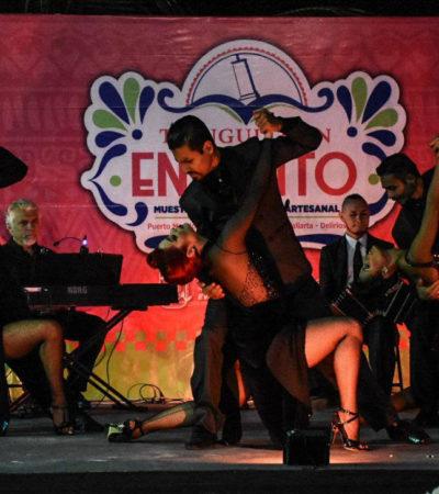 Engalana Festival Internacional de Tango el 'Tianguis con Encanto' en Puerto Morelos