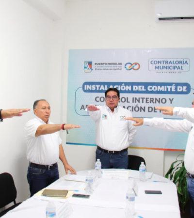 Fortalecen la transparencia y rendición de cuentas con la instalación del Comité de Control Interno y Administración de Riesgos en Puerto Morelos
