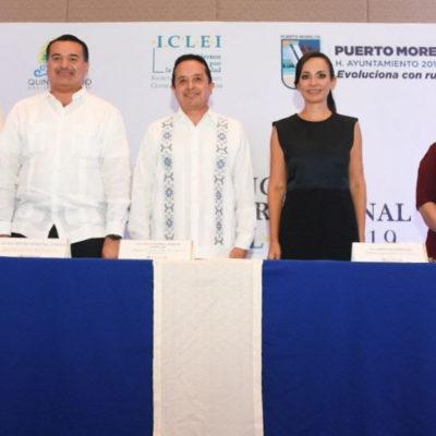 CONGRESO INTERNACIONAL DEL ICLEI EN PUERTO MORELOS: Refrenda Carlos Joaquín compromiso de QR para hacer frente al reto del cambio climático