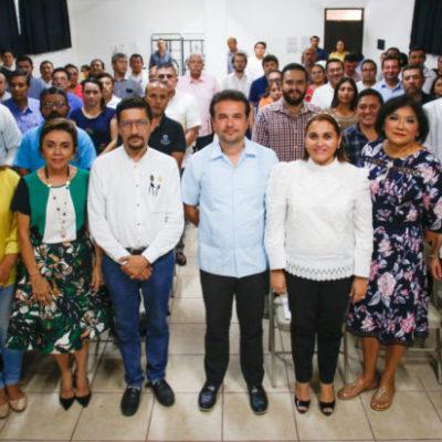 Capacitan a funcionarios de Cozumel sobre combate a la corrupción y conductas penales cometidas por servidores públicos