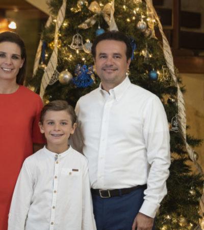 Envía Pedro Joaquín mensaje por Nochebuena y Navidad