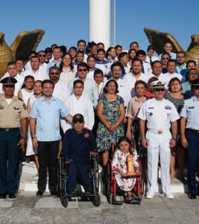 Continuará trabajando el Gobierno de Cozumel mediante el DIF para impulsar acciones a favor de personas con discapacidad, afirma Pedro Joaquín