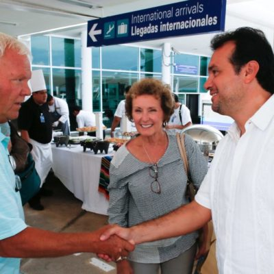 Destaca Pedro Joaquín bonanza turística de Cozumel