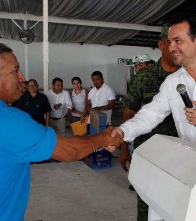 Reconocen labor y dedicación de policías en Cozumel