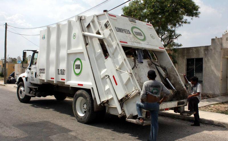 EL QUE QUIERA AZUL CELESTE…: Mérida, de las pocas ciudades en México donde se cobra por el servicio de recolección de basura