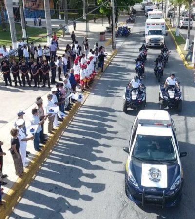 """Arranca el operativo vacacional """"Guadalupe-Reyes 2019-2020"""" en Cozumel"""