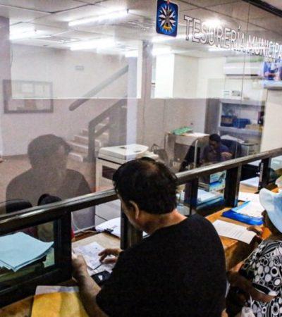 Ofrecerá Ayuntamiento de Isla Mujeres descuento del 20 por ciento en el predial del 16 al 31 de diciembre