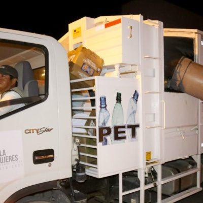 Cambiará horario de recolección de basura el 24 y 31 de diciembre en Isla Mujeres