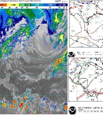 PRONÓSTICO DEL CLIMA: Bajas posibilidades de lluvia para Quintana Roo