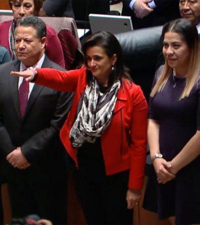 DEL SAT A LA SCJN: Elige Senado a Ana Margarita Ríos-Farjat como nueva Ministra de la Suprema Corte