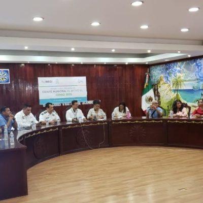Ayuntamiento de Isla Mujeres se prepara para apoyar al INEGI brindando facilidades en trabajos del censo 2020