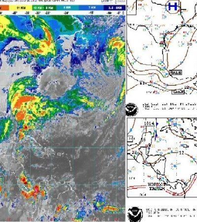 PRONÓSTICO DEL CLIMA: Prevén lluvias con actividad eléctrica para este domingo