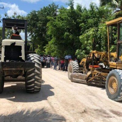 Obras de pavimentación en Tulum, Cozumel y Lázaro Cárdenas proyectadas para 2019 serán concluidas durante el primer trimestre de 2020, anuncia SEOP