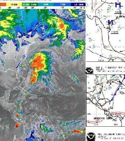 PRONÓSTICO DEL CLIMA: Se espera descenso en la temperatura en Quintana Roo para esta Nochebuena