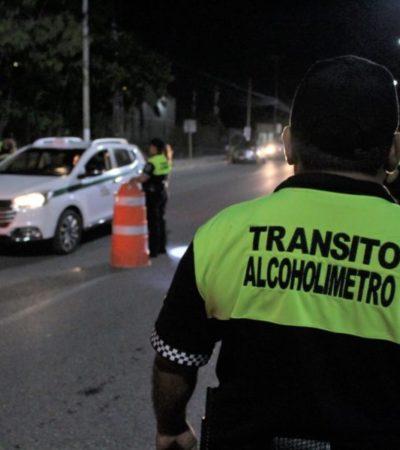 Pierde el programa de alcoholimetría en Cancún su objetivo primordial: salvar vidas
