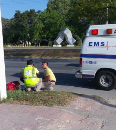 Se registra al menos una decena de accidentes automovilísticos al día en Chetumal