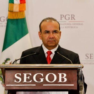 Niega Navarrete Prida relación con empresas ligadas a García Luna durante su gestión en Segob