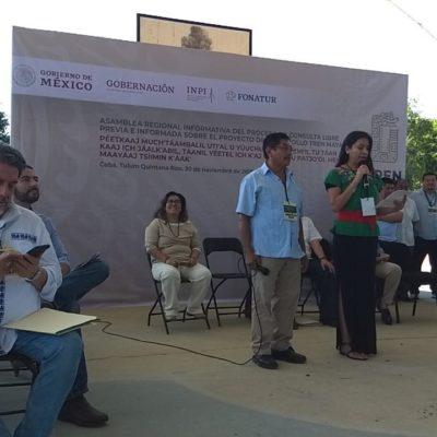 Rechaza ONU procedimiento de la consulta del Tren Maya por no observar estándares internacionales